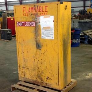 Lyon Metal Products 45 Gal Flammable Safety Cabinet Cat No 5444 pzb
