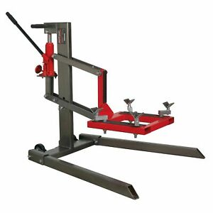 Sealey Single Post Motorcycle bike Garage Lift lifting 450kg Capacity Mcl500