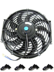 12 Inch S Blade Curved Reversible 1000 Cfm Radiator Cooling Fan 12 Fan