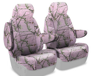 New Full Printed Realtree Ap Pink Camo Camouflage Seat Covers 5102034 36