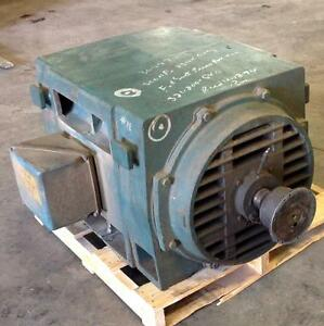 General Electric Frame 509ls 3ph 2300v 500hp Ac Motor 5ks509an144hbh pzb