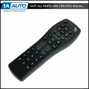 Ac Delco 20929305 Dvd Player Remote Control For Chevy Cadillac Buick New