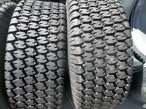 Two New 13 6x16 Carlisle John Deere 650 750 Four Ply Turf Tractor Tires