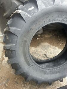 Two 14 9x24 Case Ih 8 Ply Tubeless Easy Repair Tractor Tires