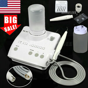 Usa Dental Led Curing Light Lamp Resin Cure Black 2300mw 385 515nm Spectrum 3s d