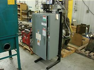 Square D Company 2200 Amp Welding Power Supply Off A Fanuc Robot