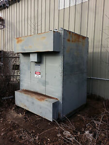 Square D 750kva 1000kva Transformer 4160v 480y 277v 3r Outdoor Substation