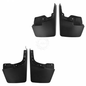 Oem Splash Guard Mud Flap Molded Black Front Rear Kit Set Of 4 For Gmc Canyon