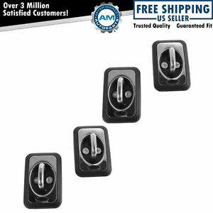 Oem Bed Cargo Tie Down Hook Anchor Set Of 4 Chrome Black For Ford Truck New