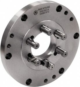 Bison Lathe Chuck Back Plate For Plain Back 8 Inch Chuck D1 5 7 878 085f