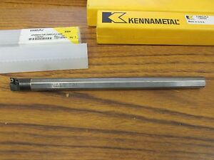 Kennametal 1 2 X 8 Solid Carbide Bore Bar E08sclpl2 With 4 New Inserts