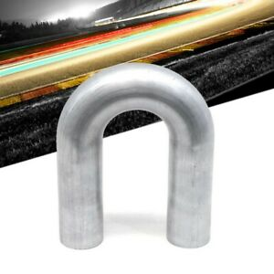 Hps 2 1 4 Od 57mm 180 Degree Bend 16 Gauge Aluminum Tubing Elbow Pipe 3 Clr