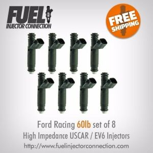 Ford Racing 60lb hr High Impedance Injector Set Of 8