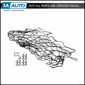 Oem 12343606 Bed Mounted Expandable Web Cargo Net W Retainer Hooks For Gm Chevy