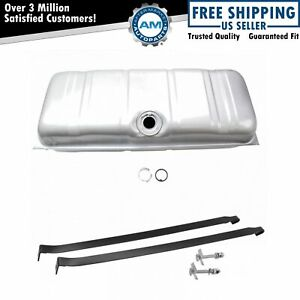 Fuel Gas Tank W Straps Kit Set For 61 64 Chevy Bel air Biscayne Impala 20 Gallon
