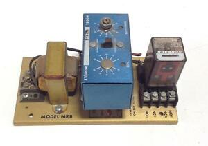 Banner Timer Relay Module Model Mrb Mb3 4