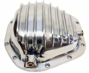 Aluminum 1966 Up Dana 60 Front Rear Differential Cover 10 Bolt Polished