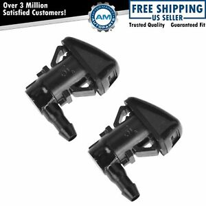 Oem Windshield Wiper Washer Jet Spray Nozzle Pair Set Of 2 Lh Rh For Ford New