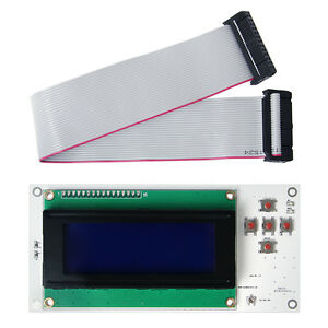 Lcd 2004 Controller Display For Makerbot 3d Printer Control Board Mightyboard