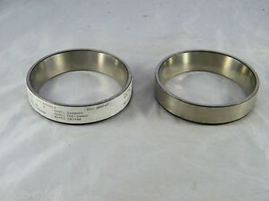 Lot Of 2 New Bower K W 563 Inner Cup Tapered Roller Bearing Race Q400565