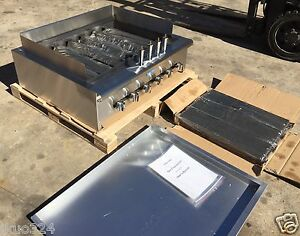 New Radiant Char Broiler Gas Grill 36 120 000 Btu