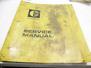 Caterpillar 977 Track Type Loader Service Manual