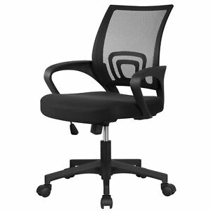 Modern Ergonomic Mesh High Back Executive Computer Desk Task Office Chair Orange