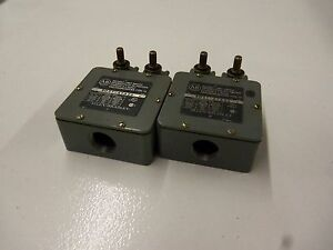 Lot Of 2 Allen Bradley 802t a1a2d Series C used