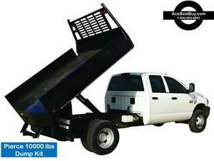 Pickup Flatbed Dump Bed Hoist Kit Turn Into Dump Truck 10 000 Lbs easy Install