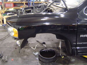 2002 2004 Dodge Ram 1500 Srt10 Srt 10 Viper V10 Oem Black Lh Left Drivers Fender