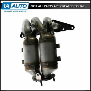 Exhaust Manifold Dual Catalytic Converter For 04 12 Mitsubishi Galant 2 4l New