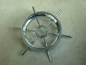 Packard Clipper Hood Grille Trunk Oem Emblem Great Condition