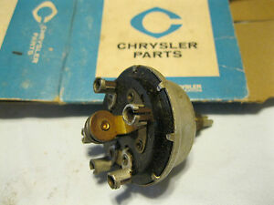 Nos Mopar 1953 1954 Chrysler Dodge Windshield Wiper Switch