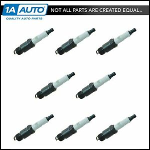 Ac Delco R45ts Spark Plug Set Of 8 For Chevy Gmc Buick Cadillac Pontiac Olds New