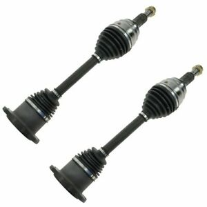 Front Cv Axle Shaft Pair Set Of 2 For Silverado Tahoe Suburban Yukon Escalade