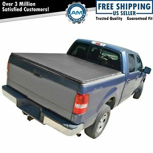 Tonneau Cover Hidden Snap For Frontier King Cab Pickup Truck 6ft Short Bed