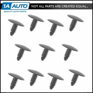 Oem Hood Insulation Retainer Clip Set Of 11 For Chevy Gmc Pontiac Saturn New