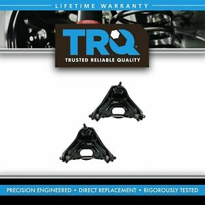 Trq Front Upper Control Arm W Ball Joint Lh Rh Pair For Buick Chevy