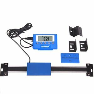 24 Stainless Steel Digital Remote Readout Dro Quill Table Scale For Mill Lathe