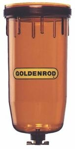 New Goldenrod 495 4 Usa Fuel Tank Filter Replacement Bowl For 495 496 6364814