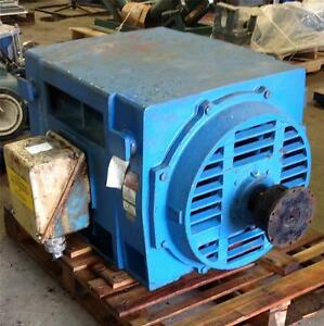 General Electric Frame 509ls 3ph 2300v 3575rpm 500hp Motor 5ks509an144hbh