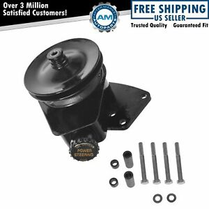 Borgeson Power Steering Pump W Bracket Upgrade For Ford Lincoln Mercury