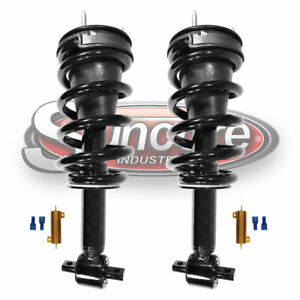 07 13 Chevy Avalanche Front Struts Autoride Conversion To Passive Kit W Bypass