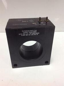 Westinghouse 300 5a 50 400hz 600v Current Transformer 3486c98h03