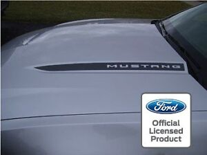 2010 2012 Ford Mustang Hood Spear Cowl Stripe Graphic Decal Sticker Package Ssa