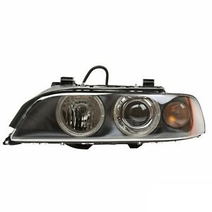 Oem Hella Left Xenon Headlight Headlamp Light W White Turn Signal For Bmw E39