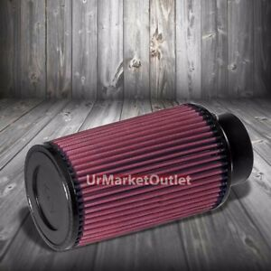 K N 3 00 76 Mm Universal Rubber Cone Centered Round Tapered Air Filter Re 0910