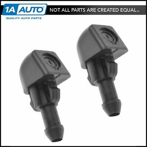 Oem Windshield Wiper Washer Nozzle Pair Lh Rh Front For Chevy Pontiac Saturn