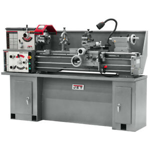 Jet Ghb 1340a Geared Head Bench Lathe With Taper Attachment