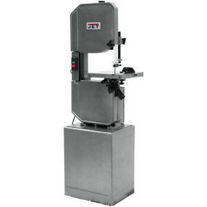 Jet J 8201vs 14 Metal wood Vertical Variable Speed Bandsaw 115 230v 1ph 414502